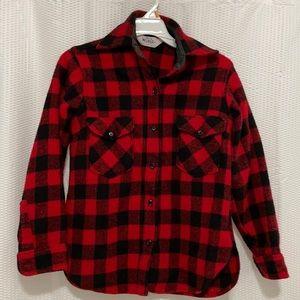 Woolrich buffalo plaid shirt xs/s